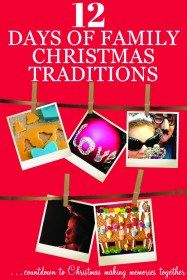 12 Days of Family Christmas Traditions