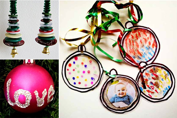 12 Simple Christmas Traditions for Families: Craft together
