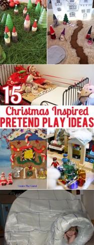 15 Christmas Inspired Pretend Play Ideas
