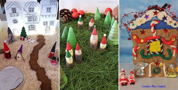 15 Christmas Small World Play Ideas