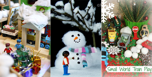 15 Christmas Small World and Pretend Play Ideas