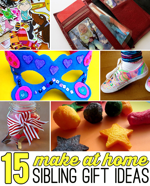 15 sibling gift ideas - gifts kids can make themselves