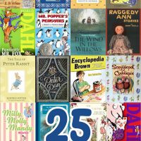 25 Classic Chapter Books for 5-8 year olds