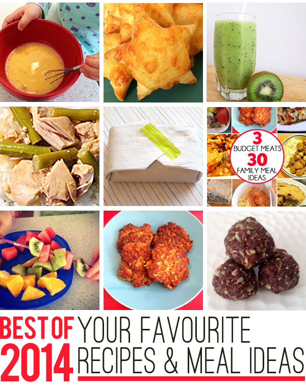 Best of 2014 Your Favourite Recipes and Meal Planning Ideas