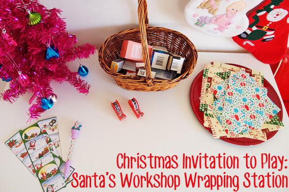 Santa's Workshop pretend play ideas