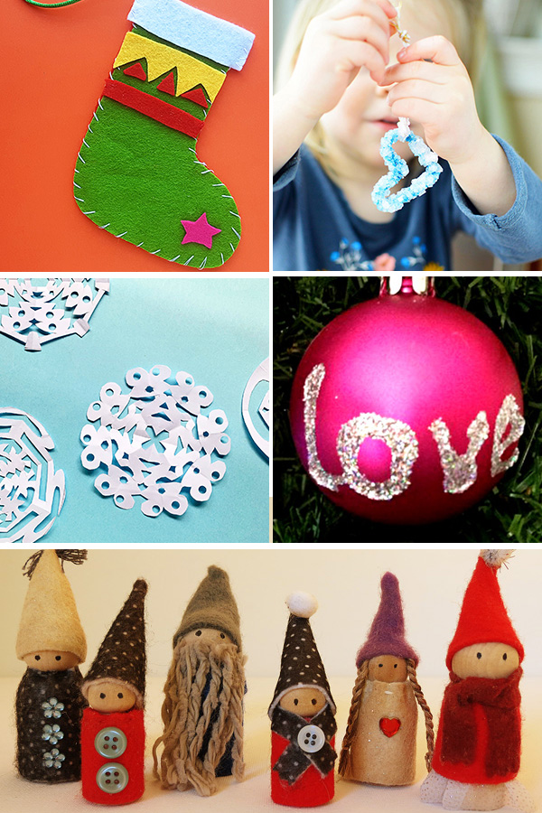 Christmas Decorations for School Age Kids Can Make