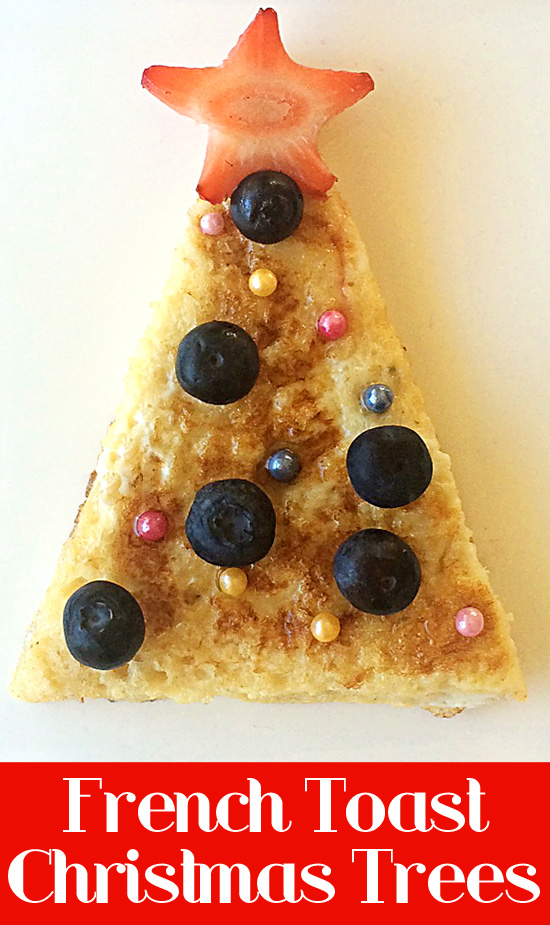 French Toast Christmas Trees