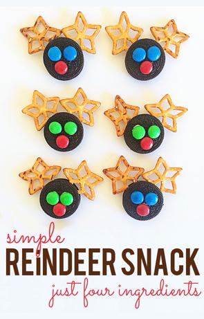 Simple Christmas Reindeer Snacks