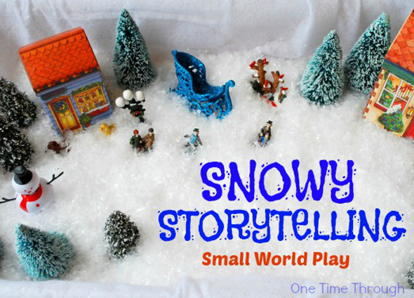 Snowy-Storytelling-Small-World-Play-One-Time-Through