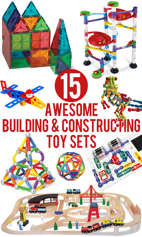 Toy Building Set For Boys : Awesome building constructing toy sets for kids