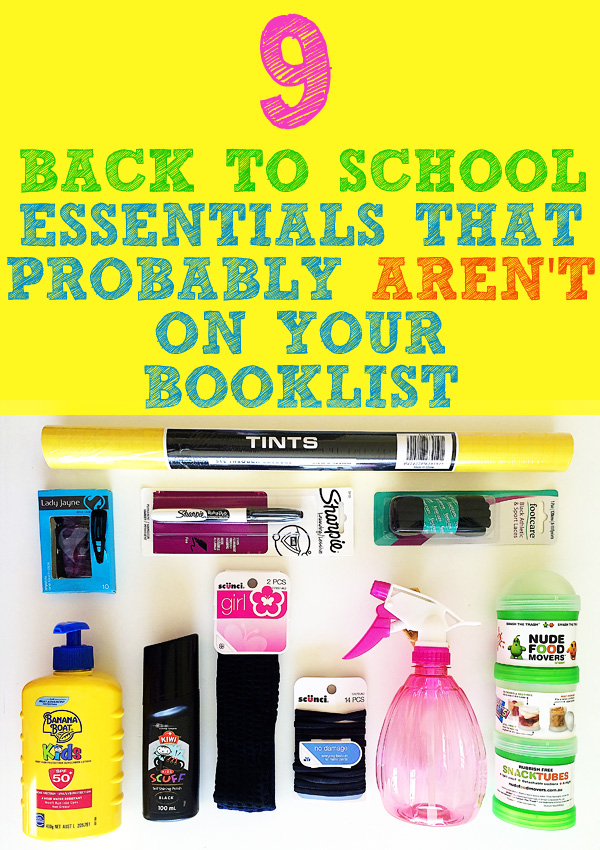 9 Back to school essentials that arent on your booklist