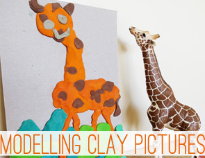 Art-for-kids_Modelling-Clay-Pictures-via-Childhood-101