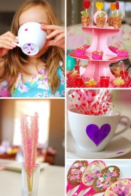 Bella's Sweet Heart Tea Party Ideas