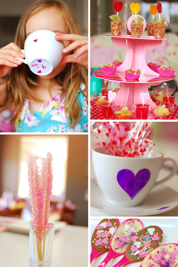 Party Ideas: A Sweet Heart Tea Party