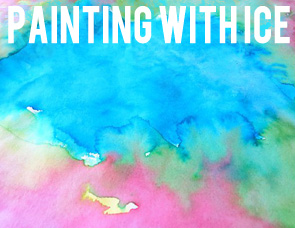 Childhood-101-Painting-with-ice-activity