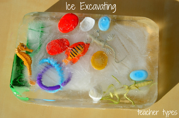 Summer activities: Ice Excavating