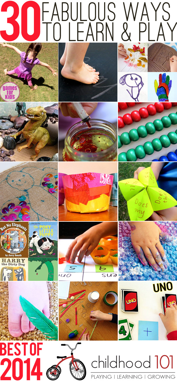 Best of 2014: 30 Great Ways to Play and Learn