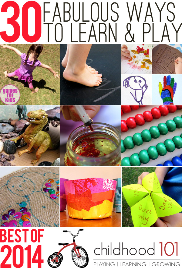 Our 30 Most Popular Play and Learn Ideas of 2014