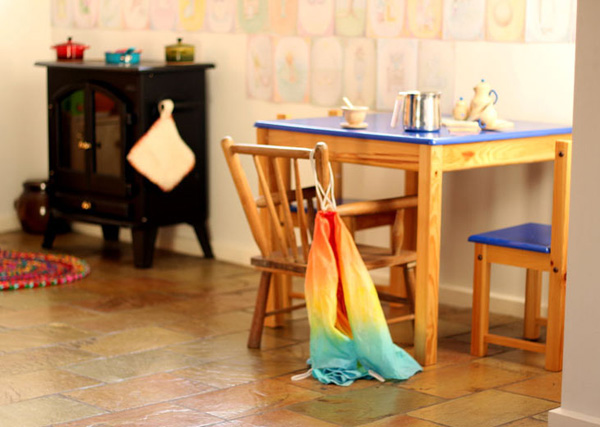 Our Play Space: Waldorf Play Kitchen