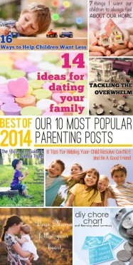 Sharing Our 10 Most Popular Parenting Posts of 2014