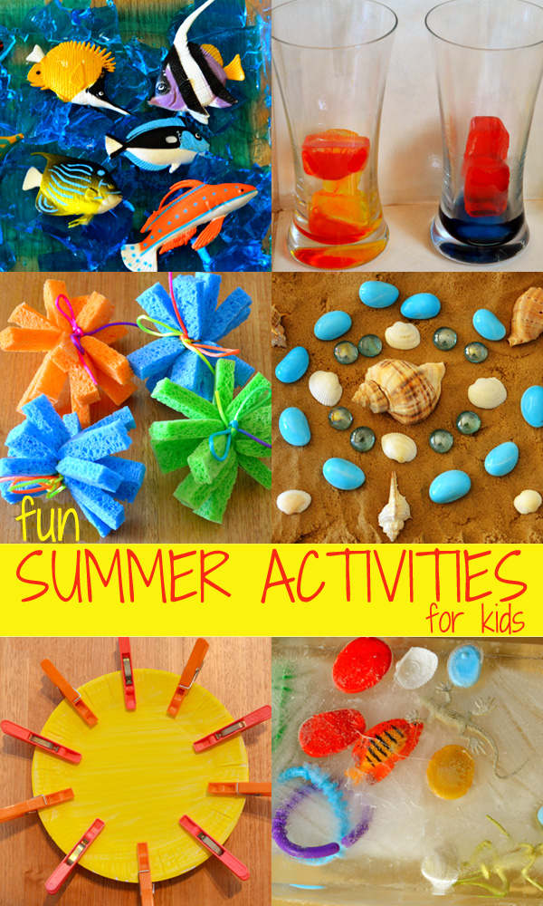 Super fun summer activity ideas for toddlers and preschoolers