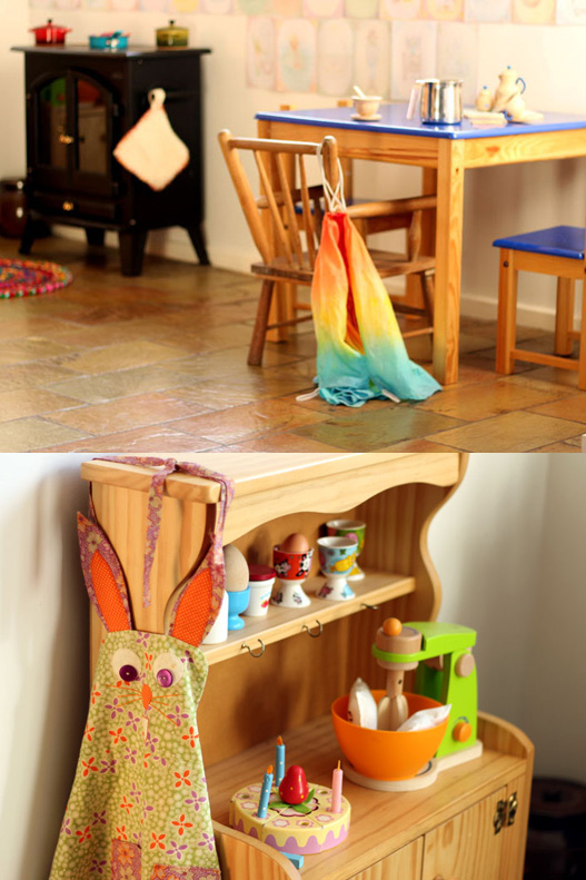 Our Play Space: A Waldorf Play Kitchen