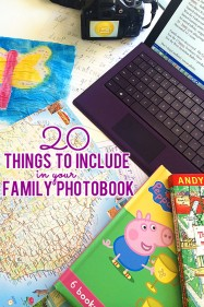 20 Things to Include in Your Family Photobook