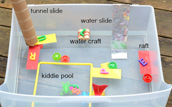 Alphabet Games: ABC Water Play