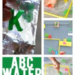 Alphabet Game Ideas: ABC Water Play