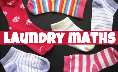Laundry maths for kids