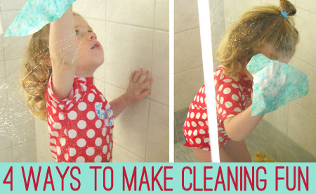 Make cleaning fun