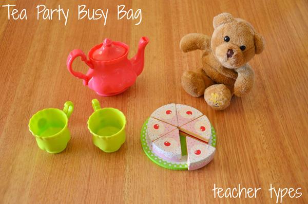 7 Toddler Busy Bag Ideas