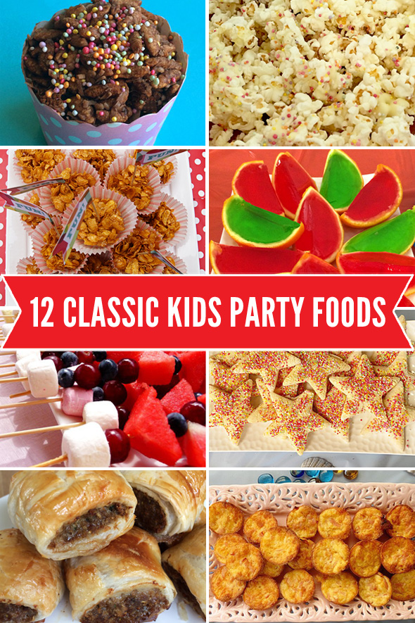 12 Classic Kids Party Foods