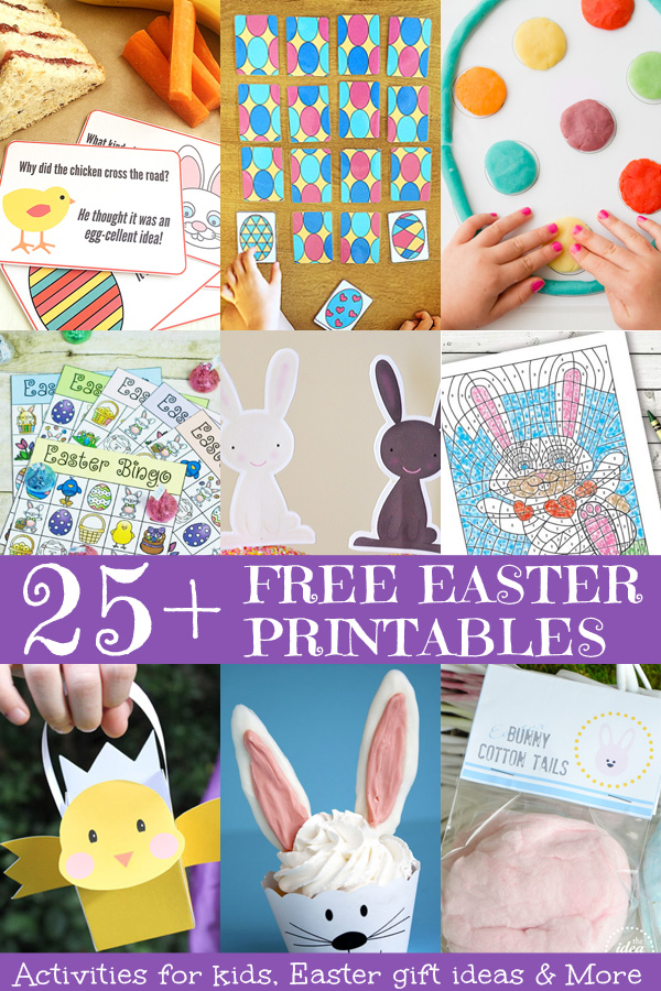 25 free easter printables negle Gallery