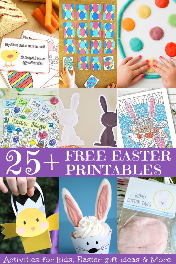 25+ Free Easter Printables