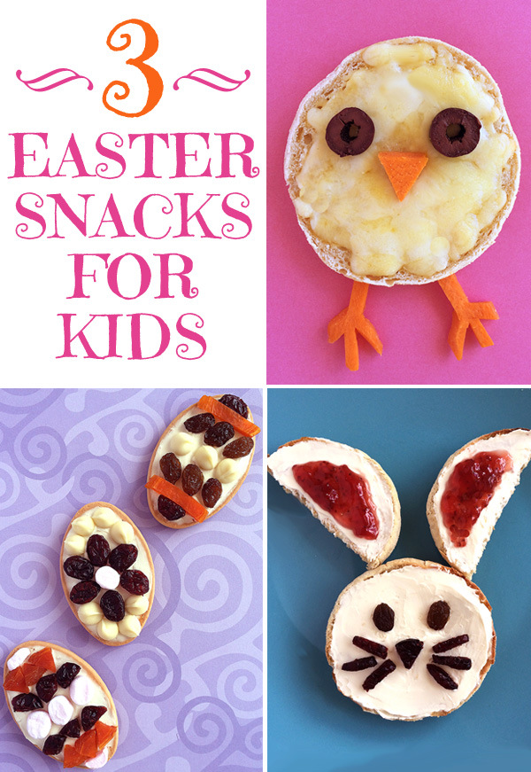 3 Fun Easter Snacks for Kids this Holiday Season
