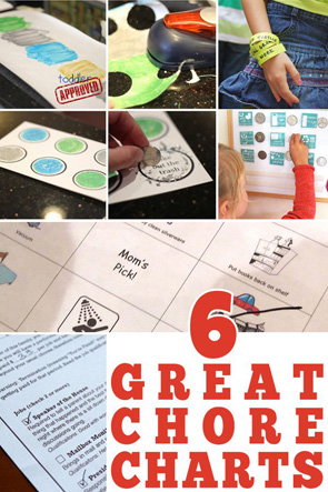 kids chores printable table setting placemats childhood101