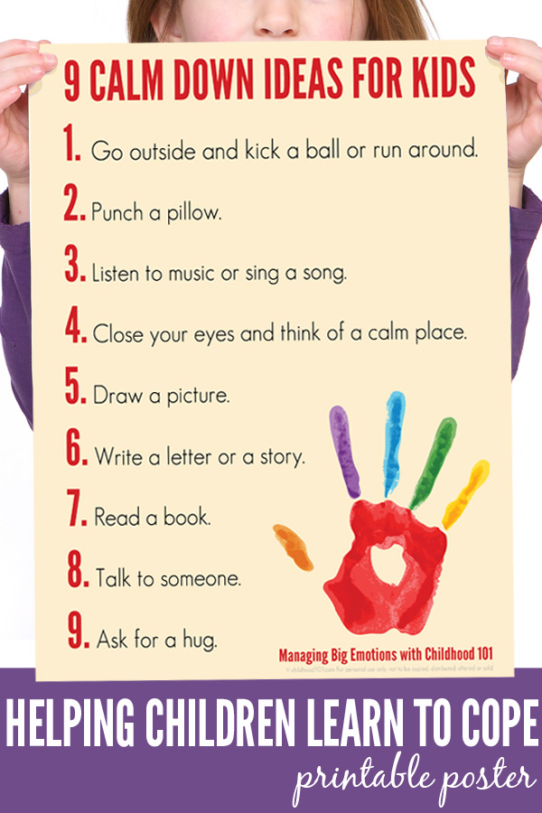 9 Calm Down Ideas for Kids | Childhood101