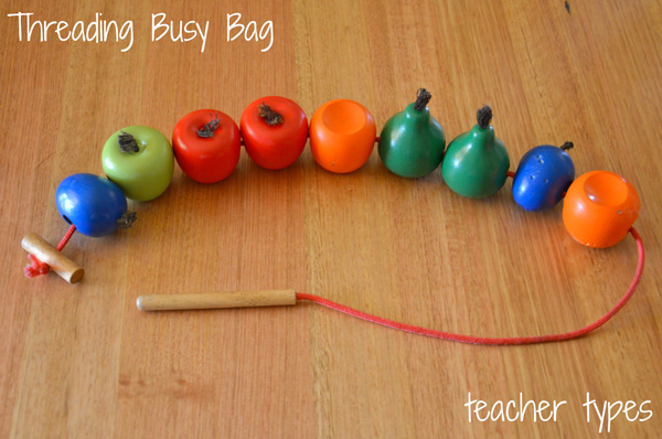 Busy Bag Ideas for Preschoolers: