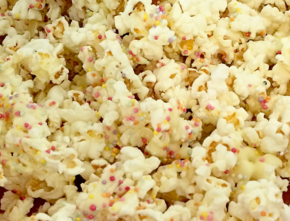 Classic party food ideas: Popcorn