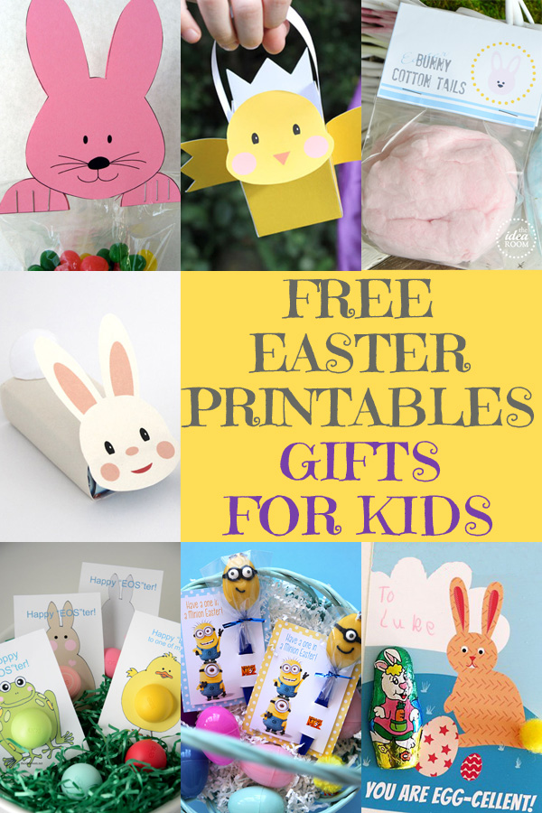 Free Easter Printables: Gifts for Kids
