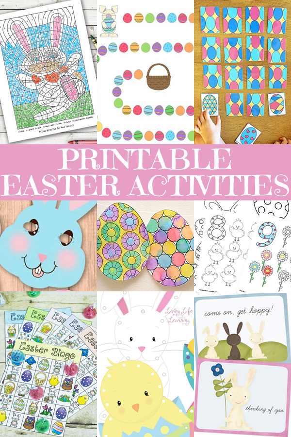Free Printable Easter Activities for Kids