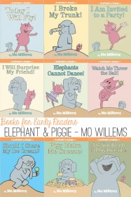 Great Books for Early Readers_Elephant and Piggie by Mo Willems