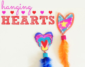 Hanging-hearts-creative-threading-activity-for-kids