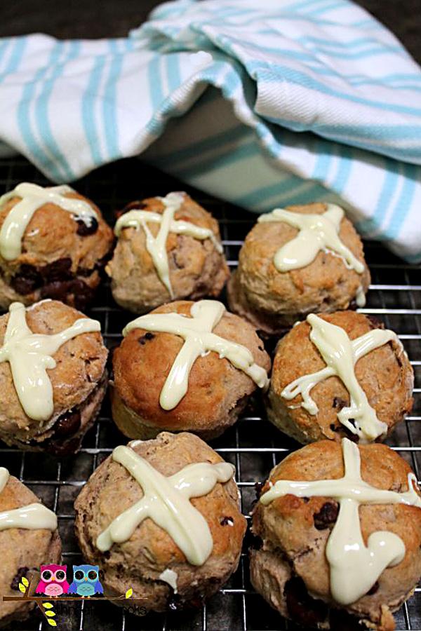 Easter Hot Cross Scones Recipe