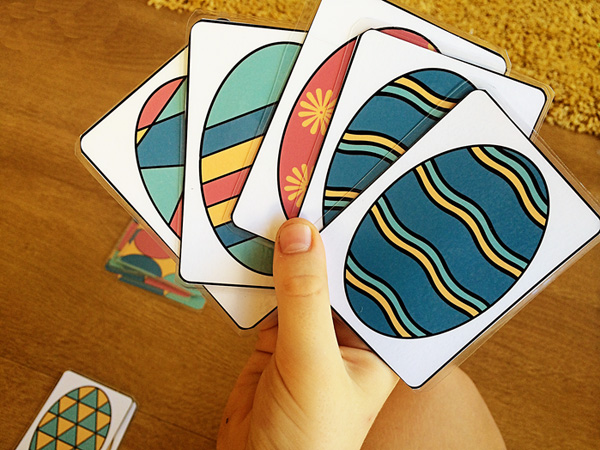 Printable easter egg cards 4 games to play childhood101 for How do you play go fish card game