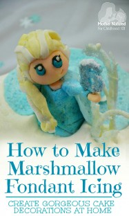 How to make Marshmallow Fondant Icing. Perfect for making your own cake decorations at home.