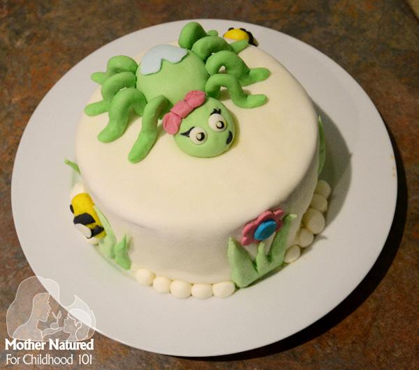 Little Miss Muffet Cake Ideas