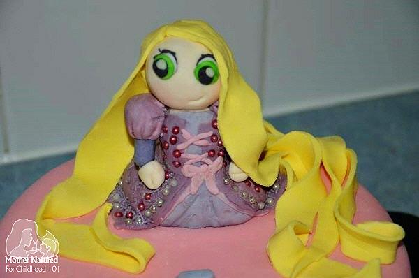 Princess Rapunzel Cake Ideas