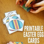 Printable Easter Egg Cards and 4 Card Games to Play